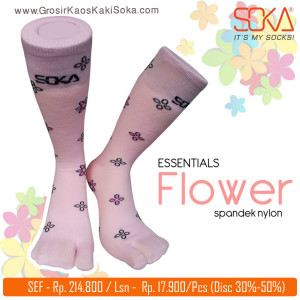Kaos kaki Soka Essentials Flower