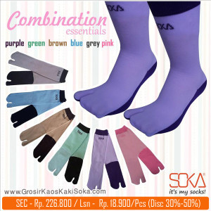 Kaos kaki Soka Essentials Combination