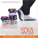 Kaos kaki Soka Essentials Batik Mega Mendung