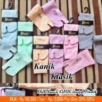 Kaos Kaki Kanik Klasik Jempol Polos Pendek