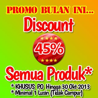 Discount 45% Semua Produk Grosir Kaos Kaki Soka