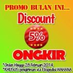 Discount Ongkir Kirim Ke Seluruh Indonesia