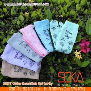 Kaos kaki Soka Essentials Butterfly