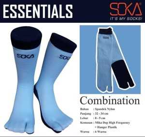 SEC-Kaos Kaki Soka Essentials Combination-4