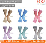 Kaos Kaki Soka International Original Plain