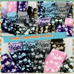 Kaos kaki Soka Essentials Orchid