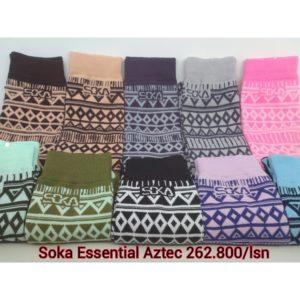 Kaos Kaki Soka Essentials Aztec