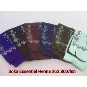 Kaos Kaki Soka Essentials Henna